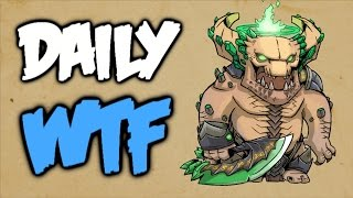 Dota 2 Daily WTF - Time to Flee