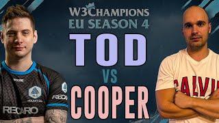 WC3 - W3C Season 4 Finals EU - Quarterfinal: [HU] ToD vs. Cooper [ORC]