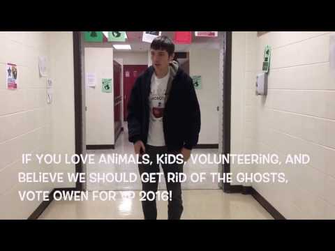 Owen Walters for Vice President 2016