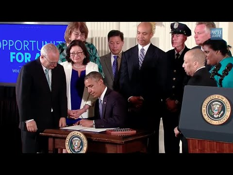 President Obama Signs Religious Discrimination Into Law