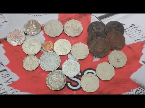 Coins from the UK. Thank you Backyard Bullion. CSS 100 Days of Silver Stacking Day #95