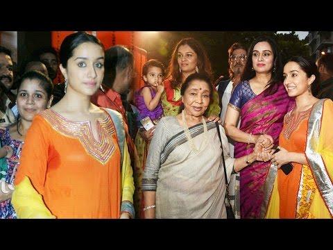 Shraddha Kapoor At Pandit Pandharinath Kolhapure Marg Opening