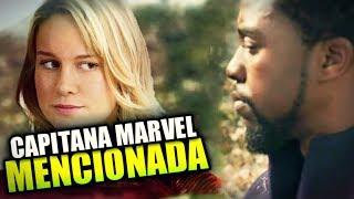 ¡Esta Es La Escena Eliminada De Black Panther Que Menciona A Capitana Marvel! Te Sorprenderá