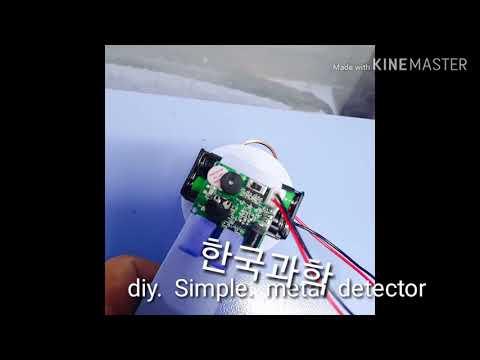 Diy.  Simple. Metal detector
