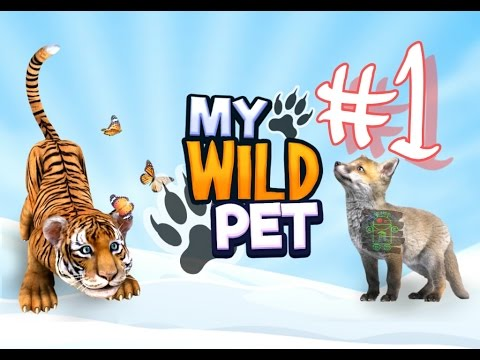 My Wild Pet: Online Animal - #1 HD Android Gameplay - Child games - Full HD Video (1080p)