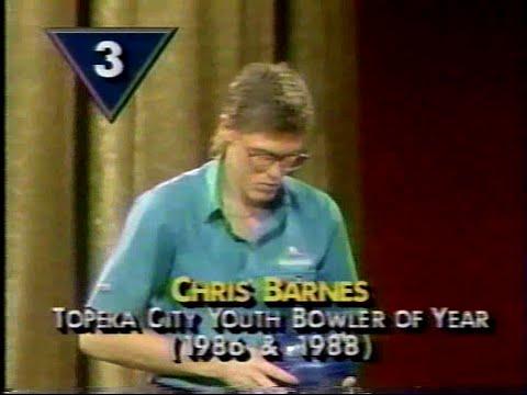1989 Bowling Shootout  19yr old amateur, Chris Barnes  Mark Roth  Marshall Holman  Lisa Wagner