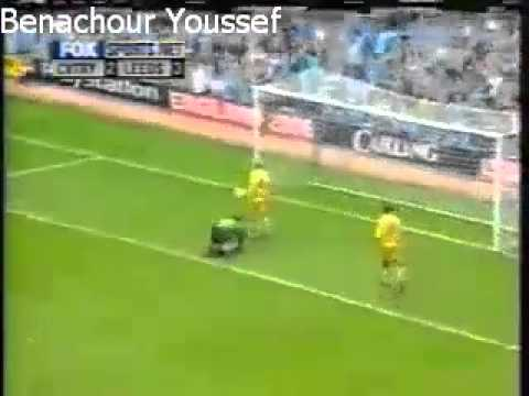 Youssef Chippo vs Leeds United - Premier League - matchday 7 - 1999-2000
