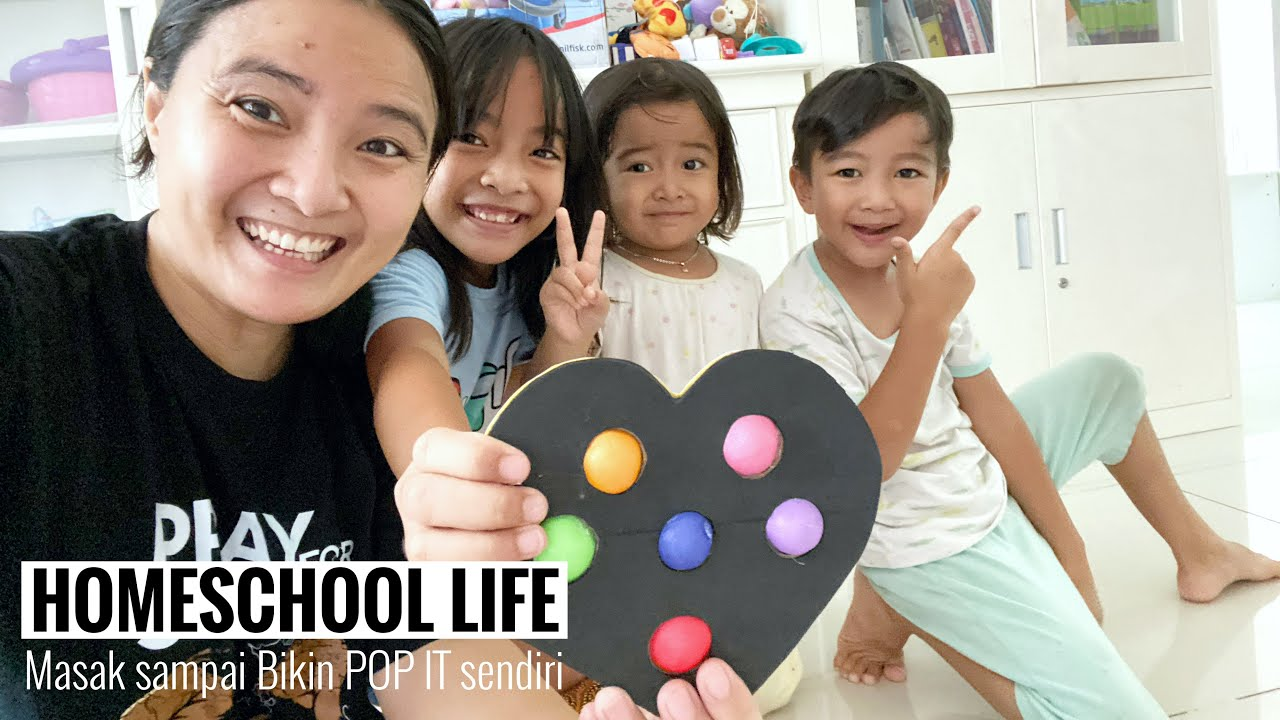 Daily Routine Zara | Rumahku Tempatku Belajar Mengajar | HOMESCHOOL LIFE