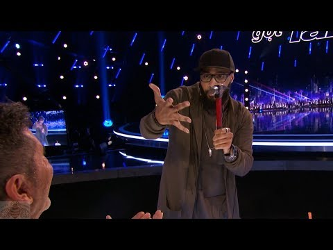 America's Got Talent 2017 Eric Jones Magician Smashes Simon's Buzzer Full Clip Judge Cuts S12E08