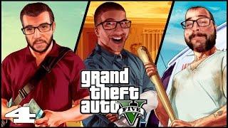 GTA V (PS4) - Episodio 4 - Malas compañías