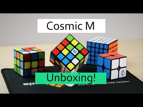 EPIC Magnetic Cosmic Puzzle Unboxing!! [2x2 -5x5] SpeedCubeShop.com