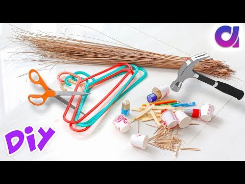 15 Genius Best out of waste craft ideas to make in 5 minutes   Artkala 478