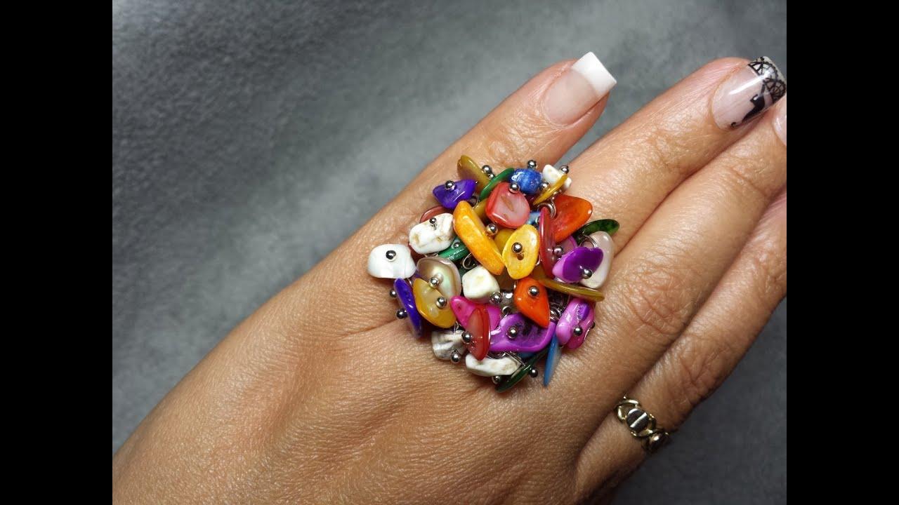 Diy como hacer un anillo fantas a de colores youtube - Como hacer plastico liquido ...