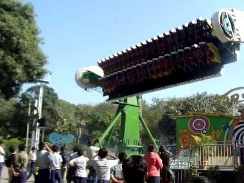 Awesome.... ride at Essel world(Top Spin)