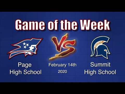 """basketball-""""game-of-the-week""""---page-vs-summit---girls---2/14/2020"""