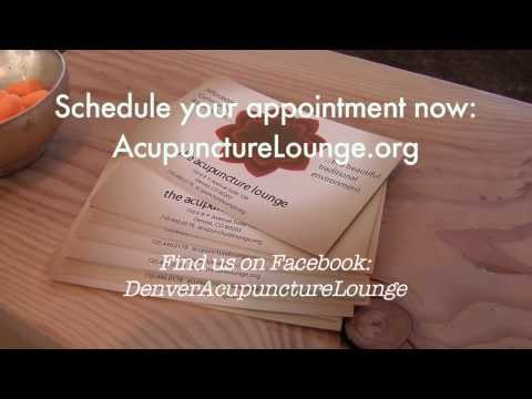 Denver Acupuncture Lounge Cupping YouTube sharing