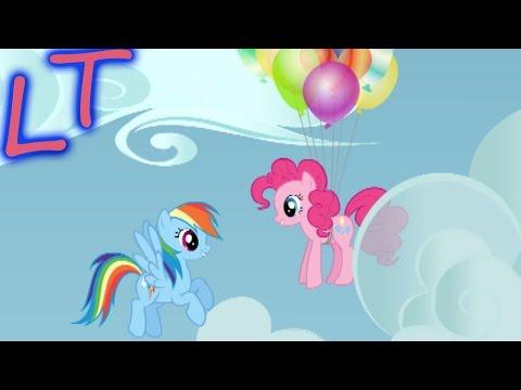 Игры мой маленький пони: Изучаем понивиль - С Радугой Дэш и спасаем Пинки. Май Литл Пони 2 часть.