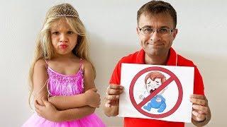 Diana, Roma y y nuevas reglas de conducta para niños