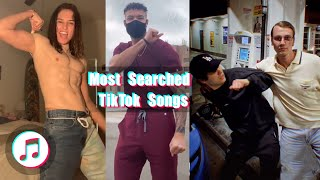 Most Searched TikTok Songs