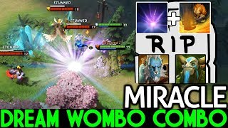 Miracle- [Earthshaker] Dream Wombo Combo by Team Liquid 7.21 Dota 2