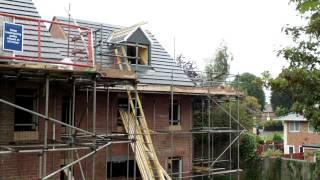 Wonderful Homes - Roof Tiles Going On 5 New Homes We're Building On Gospel Lane, Birmingham