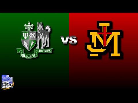 Utah high school basketball: Hillcrest Huskies vs Judge Memorial Bulldogs highlights (2016).