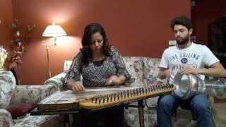 حب إيه مع تقاسيم بياتى للتمهيد عزف قانون وسام شبانه من اعداد استاذ سهاد نجم