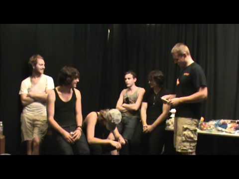Parachute Interview at Stir Concert Cove - Backstage Entertainment