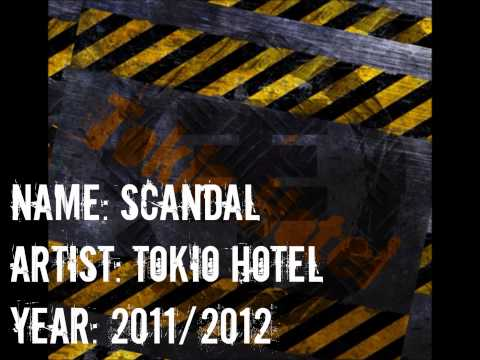Tokio Hotel - Scandal [NEW ALBUM 2011/2012] New Song Travel Video