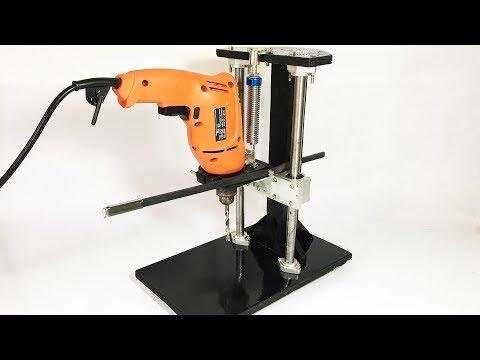 DIY Drill Press Build // Homemade Metal Drill Press Stand