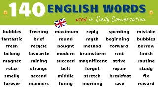 Download Learn 140 MUST KNOW English Words and Phrases used in Daily Conversation