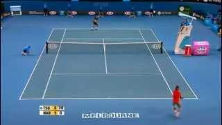 Jo-Wilfried Tsonga VS Rafael Nadal Semi Final Australian Open 2008 Highlights