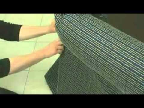 Creaci n de una funda de sof parte 24 youtube - Como hacer una funda para un sofa ...