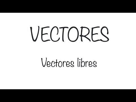 vectores.-vectores-libres