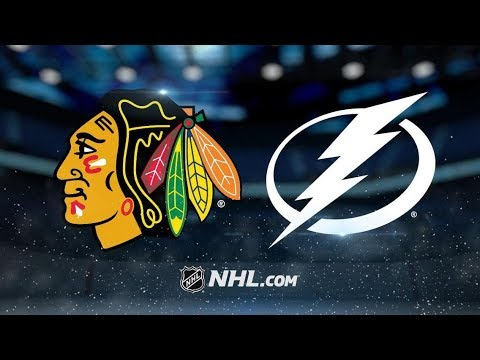 Chicago Blackhawks vs Tampa Bay Lightning | Nov.23, 2018 | Game Highlights | NHL 2018/19 | Обзор