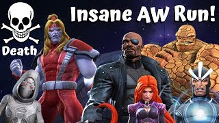 Insane AW Run! Omega Red/No Synergy Ghost! Death! - Marvel Contest of Champions