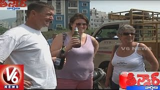 Foreigners Face Problems With Currency Demonetization   Teenmaar News   V6 News