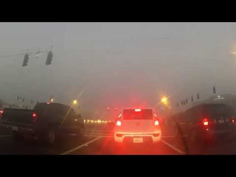 Driving around Fort Myers, FL in a fog Crisis