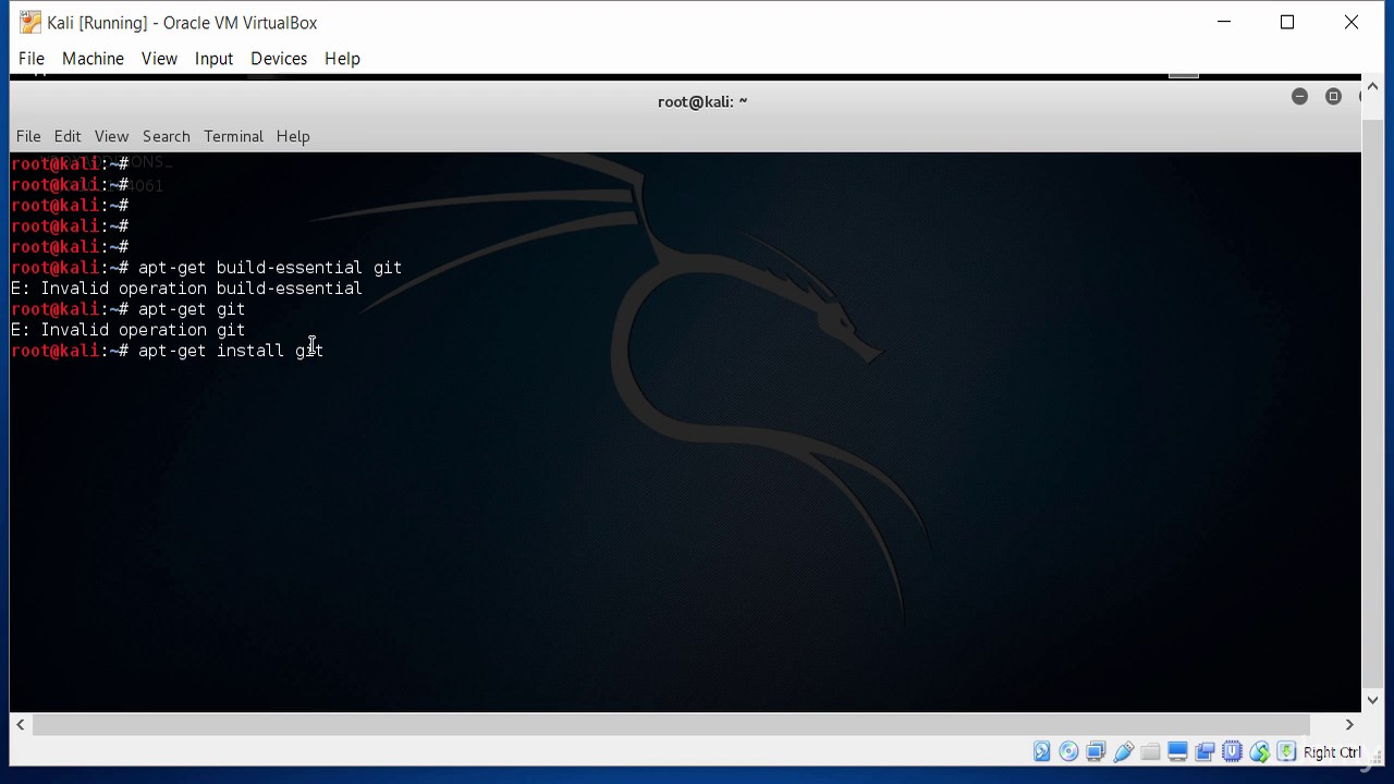 Kali Linux Graphics And Copy/Paste Setup