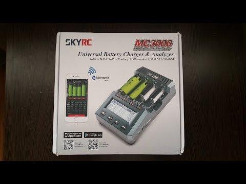 SkyRC MS 3000 зарядное устройство анализатор  третьего поколения |  Посылка из Китая