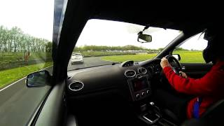 335bhp REVO tuned Ford Focus ST 225 at Castle Combe April 25th 2015
