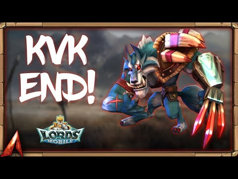 Ending Of KvK! Fight For Base! Lords Mobile