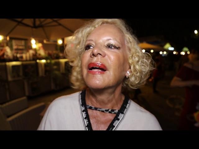 Lila Ramini Intervista a Lungo il Tevere Roma 2018