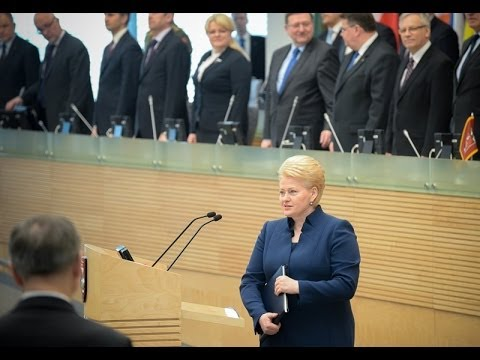 Lietuvos Respublikos Prezidentės metinis pranešimas Seime