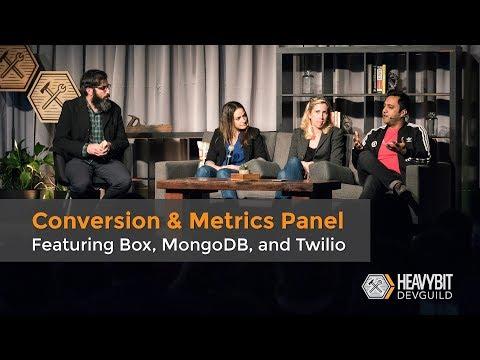 DevGuild: Content Strategy - Conversion & Metrics Panel, with Twilio, Box, and MongoDB