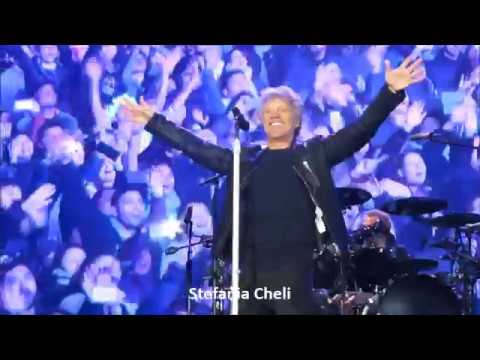 Bon Jovi Live in Santiago, Chile Sept. 14, 2017 I'll  Be There For You