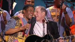 paul simon and ladysmith black mambazo diamonds on the soles of her shoes 46 hd