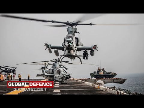 U.S. Marine Corps Unit Received its First Set of New Attack Helicopters AH-1Z Viper