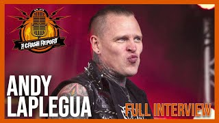 ANDY LAPLEGUA talks COMBICHRIST ORIGINS, growing up in NORWAY, MILEY CYRUS and more | TCR #10