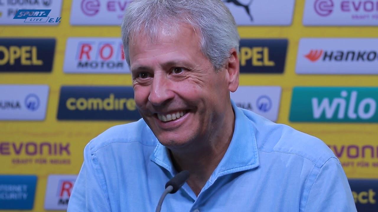 BVB-Pressekonferenz vor dem Spiel in Frankfurt